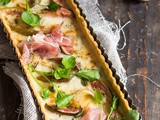 Fig Gorgonzola tart