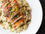 Harissa chicken with quinoa and travel plans ahead