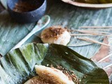 (how not to make) Sticky rice cakes with Coconut filling – Nom Kom