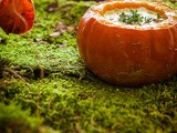 Pumpkin orange photography and styling challenge October