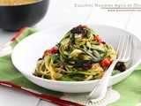 2 Weeks Cleanse and Zucchini Noodles Aglio et Olio