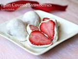 Afternoon Snack: Yogurt Covered Strawberries