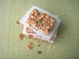 Apricot Walnut Granola Bar