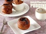 Baked Chocolate Pudding (Gluten Free)