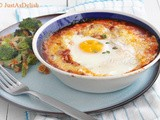 Baked Eggs in Pomodoro Sauce and a tv appearance
