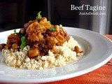 Beef Tagine with Couscous (Moroccan)