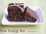 Cashew, Almond & Cocoa Raw Energy Bar