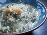 Chinese Spinach Porridge