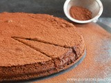 Flourless Chocolate Cake (Gluten, Grain, Nut & Dairy Free)