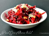 Grated Carrot & Beetroot Salad