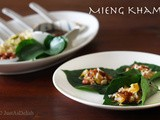 Mieng Kham (Wrapped Leaf Snack)