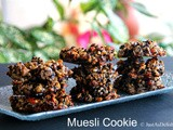 Muesli Cookies – Just Nuts, Seeds & Egg (Gluten Free).. and Giveaway Winners