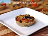 Mushroom Tartlet with Oat Crust (Gluten Free)