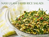 Nasi Ulam (Herb Rice Salad)