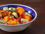 Persimmon Pomegranate Salad Recipe