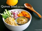 Quinoa Salad with Tahini Dressing