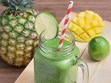 Tropical Green Smoothie + Froothie Optimum G2.1 Blender Review