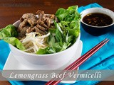 Vietnamese Lemongrass Beef with Vermicelli