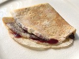 Whole Wheat Flour Crepe