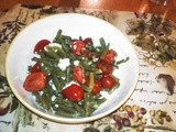 String Bean and Cherry Tomato Salad