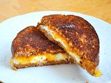 Dan in the Kitchen -- Grilled Cream Cheese and Colby Jack Sandwich