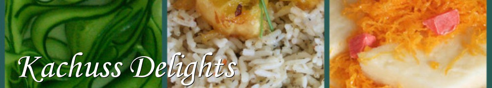 Very Good Recipes - Kachuss Delights