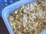 Ramadan Preparations: Basic Chicken Filling- How to freeze
