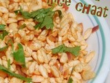 Mora Moraalu Chaat | Puffed Rice Chaat