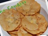Pappu Chekkalu | Rice Crackers