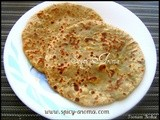 Aloo Paratha (Stuffed with Kasoori Methi Aloo)