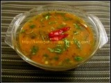 Ambat varan / Sweet and sour dal