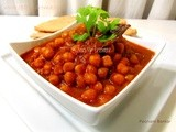 Chana Masala / Chole Recipe / Chickpea Curry (Pressure cooker Recipe)