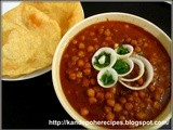 Chole / Chana masala