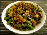 Green Beans with Besan