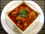Kombdi Rassa / Spicy Chicken Curry (Maharashtrian Style)
