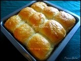 Ladi Pav / Bread for Pav Bhaji / White Bread Dinner Rolls