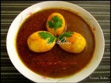 Maharashtrian Egg Curry / Anda Rassa