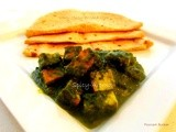 Palak Paneer / Spinach and Cottage Cheese Curry / Palak Paneer Recipe Step by Step
