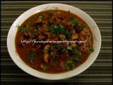 Spicy Mushroom Curry in a Tamarind Sauce