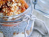 Apple trifle with chia