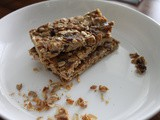 Toasted Oat Granola Bars
