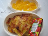 Ham & Pineapple Pizza Bento (400)