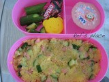 Mashed Potato Salad Bento (373)
