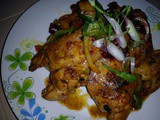 Aromatic spicy chicken wings