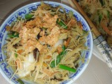 Awesome vegetarian fried rice vermicelli
