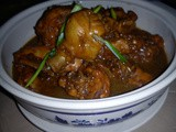 Braised chicken with taucu & nam yee