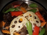 Cantonese mixed stir fry vegetables