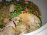 Chicken with Coriander and Chilli Padi Dressing