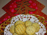 Cny 2015 - Lemon Poppy Seeds Cream Cheese Cookies