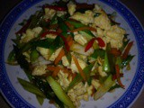Ezcr#25 - stir fried leeks with scrambled eggs
